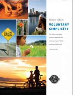 Voluntary Simplicity Discussion Book Cover